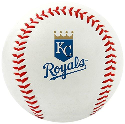Rawlings MLB Kansas City Royals Team Logo Baseball, Official, White