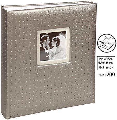 Moments Fotoalbum für 200 Fotos in 13x18 cm Einsteck Foto Album Memoalbum