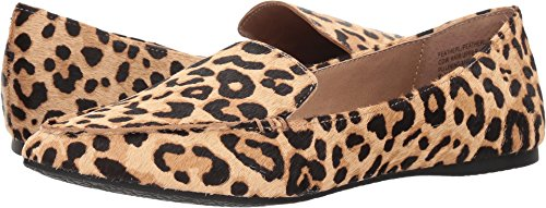 (Steve Madden Women's Featherl Loafer Flat Leopard 10 W US )