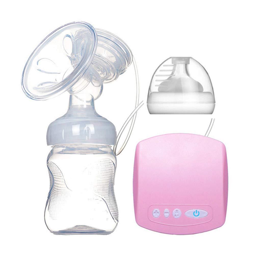 Pumpen Schmerzfrei Starke Saugleistung mit 4 Modus Massage Milchpumpen-Rosa ZYCX123 Doppel-Elektro Still