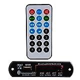Sedeta DC 12V Remote USB SD FM MP3 Player Module Car Auto Digital LED AUX MP3 Decode Board Amplifier Remote