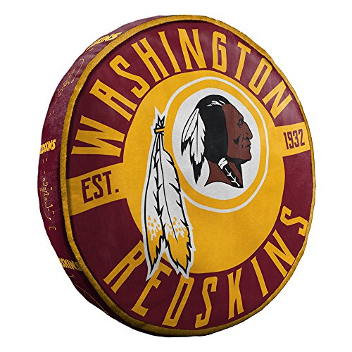 The Northwest Company Washington Redskins NFL 15in Cloud Travel Pillow