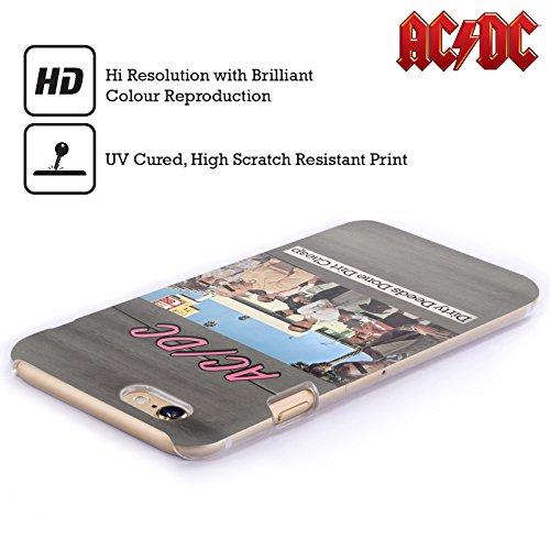 Officiel AC/DC ACDC Actes Sales Faits Sale Bon Marché Couverture D'album Étui Coque D'Arrière Rigide Pour Apple iPhone 5c