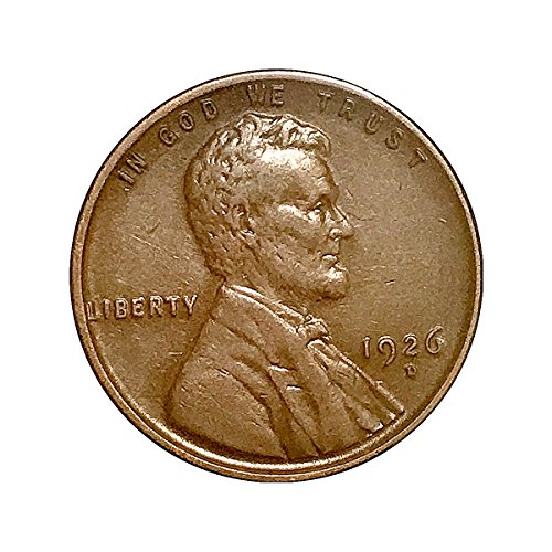 1926 D Lincoln Cent - AU / Almost Uncirculated