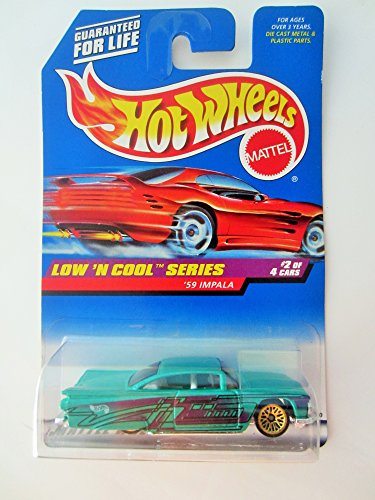 Hot Wheels '59 Impala, Low 'N Cool Series 2 of 4, #698