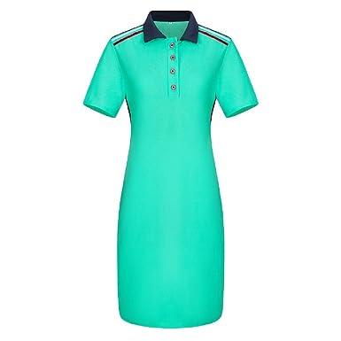 Vska Women\'s Short-Sleeve Plus Size Polo T-Shirts Pencil ...