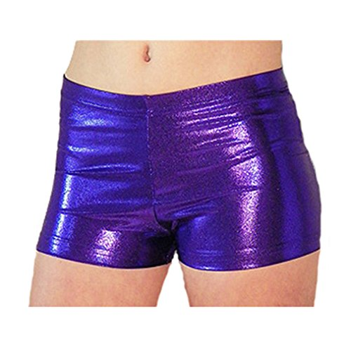 Look Activewear Purple Gymnastics Shorts