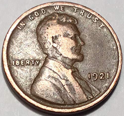1921 Lincoln Wheat Cent Penny Fine