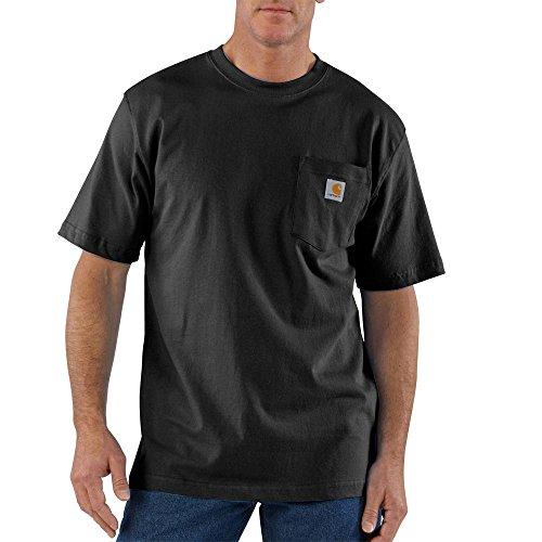 orkwear T-Shirt - Small - Black (Carhartt Workwear Pocket Tees)