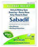 Boiron Sabadil Tablets, 4 Count