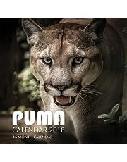 Puma Calendar 2018: 16 Month Calendar
