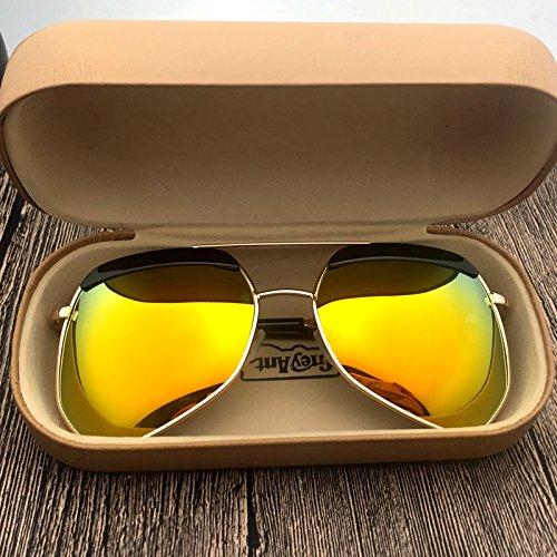 Dorada Gafas Luz para Sol Gafas De De Luz Anti Sol Gafas Y Sol KLXEB Sol dorada De De Lentes Gafas De UV Sol Rgndq1