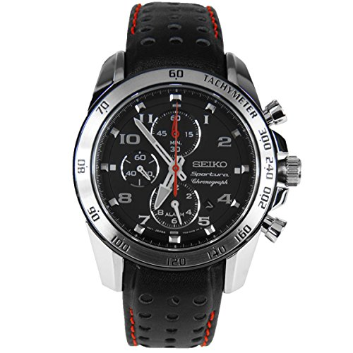 Seiko Men's SNAE65 Sportura Chronograph Alarm (Sportura Alarm Chronograph)
