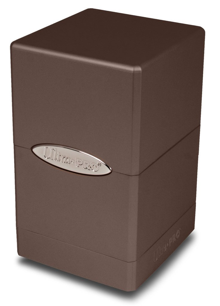 Ultra Pro Metallic Caramel Satin Tower Deck Box 84601