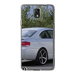 Hot HWf2328EAMf Case Cover Protector For Galaxy Note3- White Ac Schnitzer Bmw E92 3 Series Coupe Rear Angle