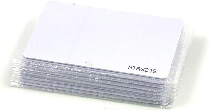 Amazon.com: Tarjeta Ntag215 NFC, Amiibo en blanco de PVC ...