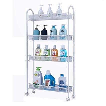 Amazon.com: NAN Liang 4-Tier Rolling Cart Slim Storage Cart ...