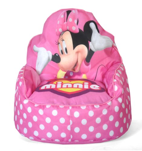 Disney Minnie Mouse Toddler Bean Bag Sofa Chair by Disney
