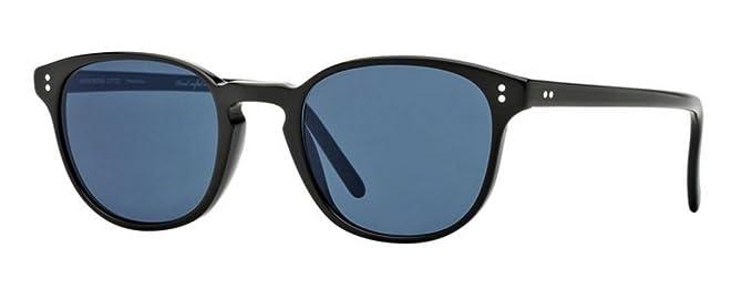 66e2e6e8c8 New Oliver Peoples OV 5219S 1005R8 Fairmont Sun Black Indigo Photochorme  Sunglasses