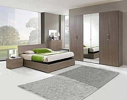 Camera larice grigio battente amazon casa e cucina