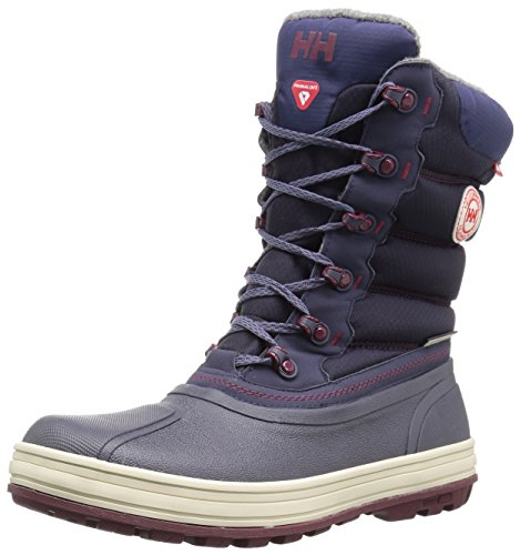 Helly Hansen Women's Tundra Cold Weather Snow Boot, Graphite Blue/Shadow Blu, 9 M US -