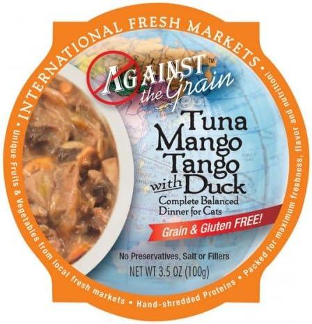 Evanger s Against The Grain Tuna Mango Tango 12 3.5 oz.