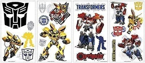 Lunarland AUTOBOTS 20 BiG Wall Decals Optimus Prime Bumblebee Decor Stickers