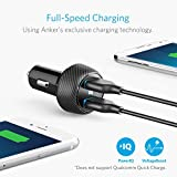 Anker Ultra-Compact 24W 2-Port Car Charger PowerDrive 2 Elite with PowerIQ Technology for iPhone 7 / 6s / Plus, iPad Air 2 / mini 3, Galaxy S Series, Note Series, LG, Nexus, HTC and More