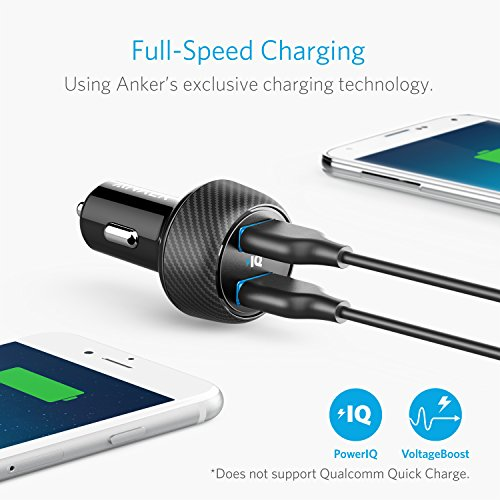 Anker Ultra-Compact 24W 2-Port Car Charger