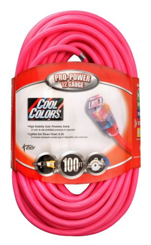 coleman 100 ft extension cord - 8