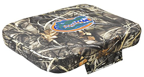 NCAA Florida Gators Wise Collegiate Premium Cooler Seat Cushion for 45-Quart Coolers, Advantage MAX-4 Camo, 45-Quart