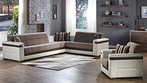 Istikbal Sectional Chair and Sofa Bed Set