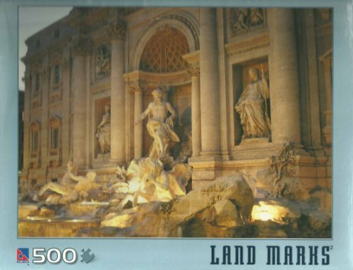 Trevi Fountain 500 Count Jigsaw Puzzle