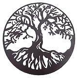 Bellaa 20230 Tree of Life Metal Wall Art Hanging Garden Sculptures 24″ Inches Review