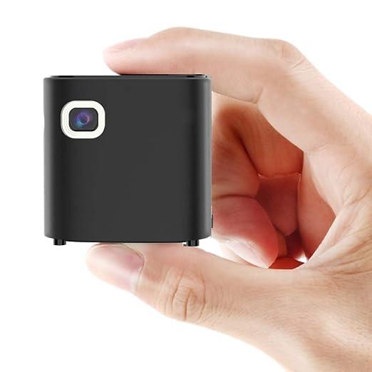 Mini proyector portátil, teléfono móvil Tamaño pequeño ...