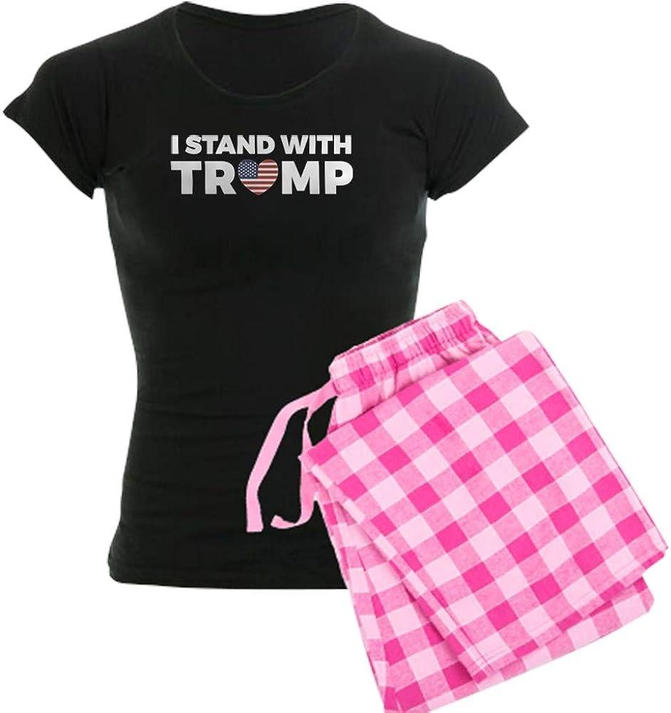 CafePress I Stand with Donald Trump Pajamas Womens PJs