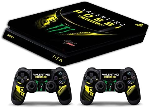Skin PS4 SLIM HD - VALENTINO ROSSI THE GAME THE DOCTOR 46 ...