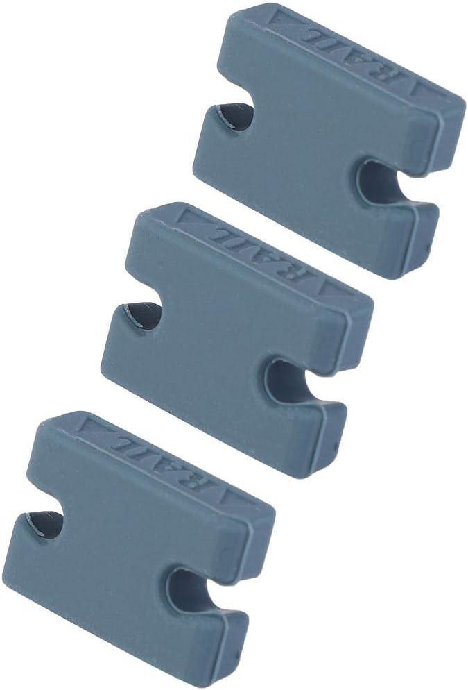 caja de compatibilidad de relleno FCS 2, 1 llave de aleta+10 tornillos+5 pesta/ñas iBOARD Kit de relleno de pesta/ñas y llave de aleta para tabla de surf