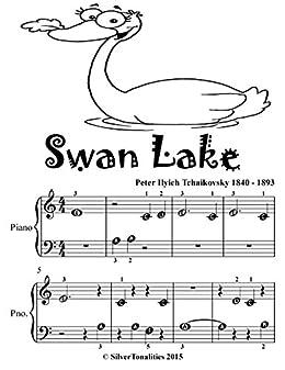 Swan Lake Beginner Piano Sheet Music Tadpole Edition - Kindle