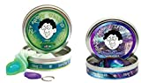 Foxfire Thinking Putty with Black-Light + Super Scarab Thinking Putty, Set of 2