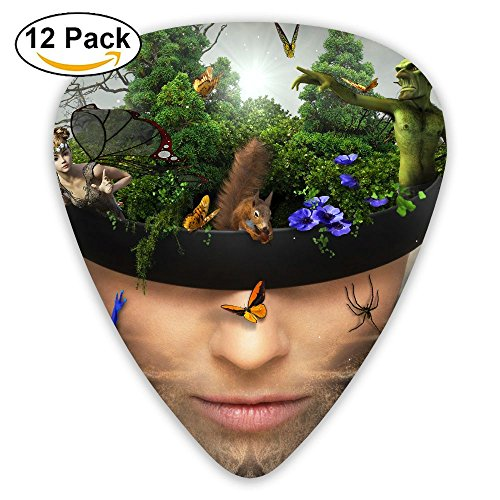 - Grghtrghlsd Portrait Fairy Tale World Classic Guitar Picks 16 Pack For Electric/acoustic Guitar,and Bass