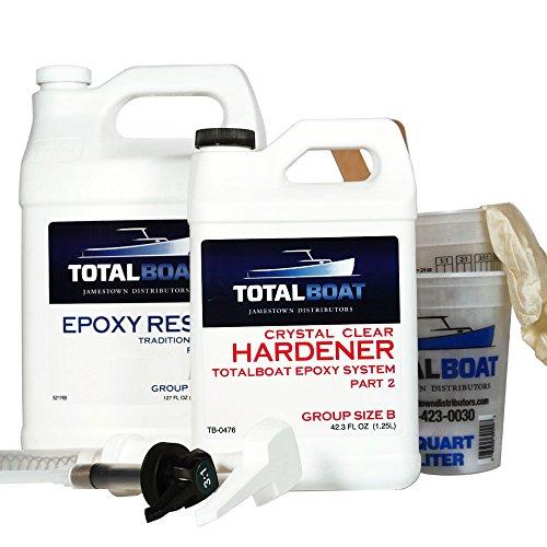 TotalBoat Crystal Clear Epoxy Kits (Gallon)...