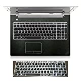 2in1 Wrist Palm rest Touchpad Trackpad Skin+ Keyboard Cover Protector for 15.6