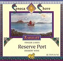 NV Seneca Shore Wine Cellars Reserve Port, Finger Lakes, Sweet Dessert Wine, 750 mL