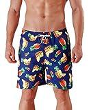 MILANKERR Floral Bathing Shorts Men