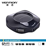 Vention VAS-J22 360 Degree Circle 4 Port USB 2.0 HUB for Cell Phones Card Reader Speakers Webcam / Vention VAS-J22 360 Degree Circle 4 Port USB 2.0 HUB for Cell Phones Card Reader Speakers Webcam .
