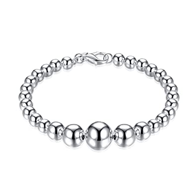 Jewelry & Watches Fine Jewelry Modern Silver Bracelet With 925 Silver Silver Jewellery Modern And Elegant In Fashion
