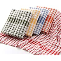ALOUD CREATIONS Multicolor Kitchen Towel/Kitchen Napkin/Table Wipe, Large Size