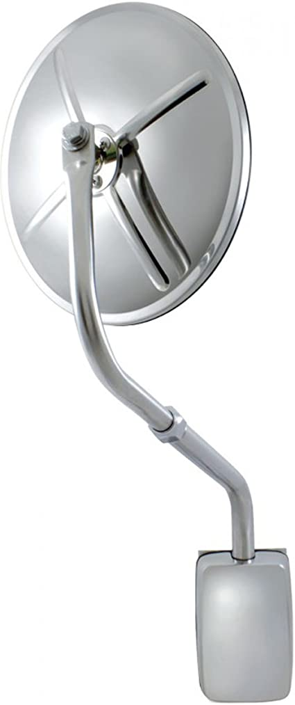 Center Stud United Pacific 60034 Stainless Steel 8 1//2 Convex Mirror