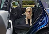 Dog Seat Cover Pet Seat Cover Car Seat Cover Dogs Wag MAT-100% Waterproof Deluxe Heavy Duty Sturdy Canvas | Hammock Design Quick Easy Installation Cars, SUV Trucks | Machine Washable (XL)